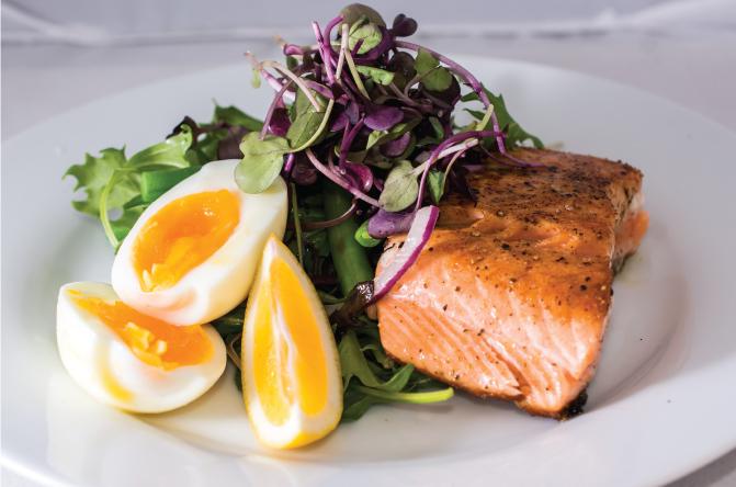 Salmon-Salad-with-Vinaigrette