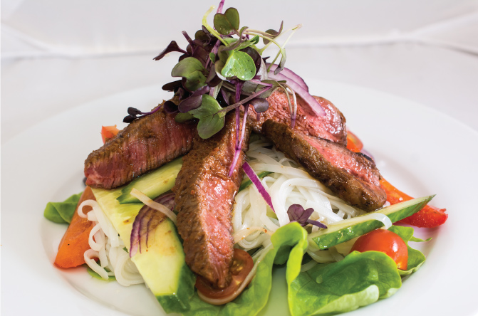 Thai-beef-and-rice-noodle-salad