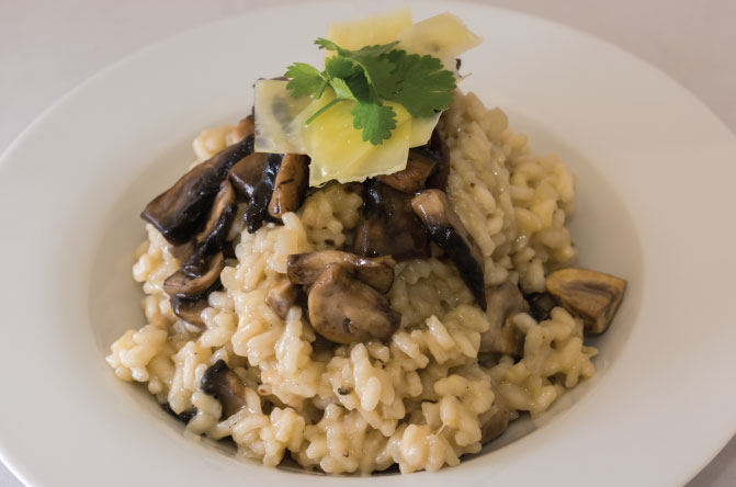Gourmet-mushroom-risotto