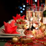 Christmas Champagne and sparkling wine