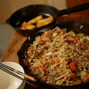 mid-week meals veggie fried rice